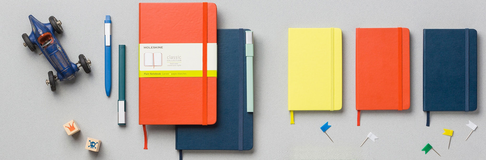 Moslekine Classic Hardbound Notebooks